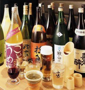 銀座の和食「別邸 竹の庵 銀座3丁目店」で焼酎を楽しむ