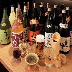 銀座の和食【別邸 竹の庵 銀座3丁目店】の日本酒