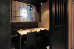 銀座の和食【別邸 竹の庵 銀座3丁目店の】の個室