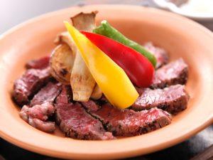 別邸 竹の庵 銀座3丁目で味わえるブランド肉の陶板焼き